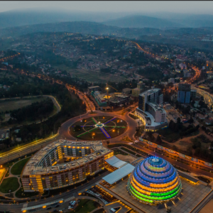 Kigali Convention Center View from the Sky