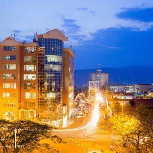 Kigali City at Night